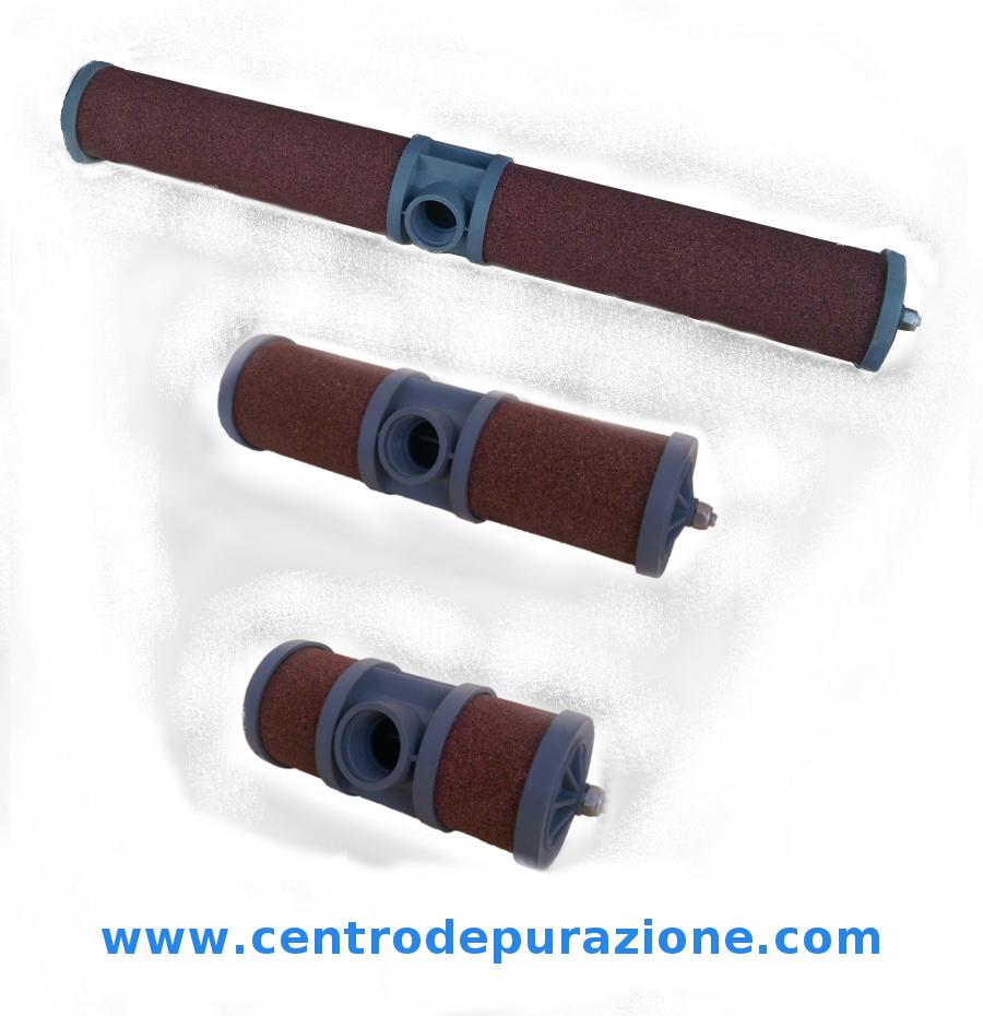 diffusori porosi in silice