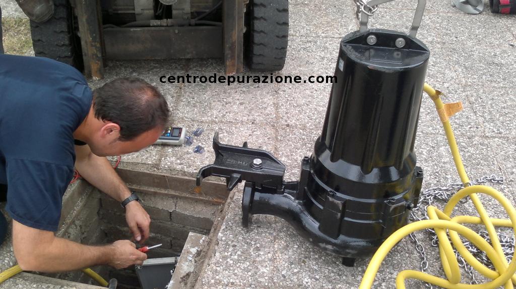 manutenzione depuratore Lucca Pisa