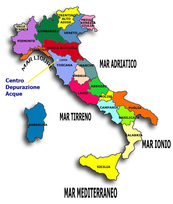depurazione acque in Italia