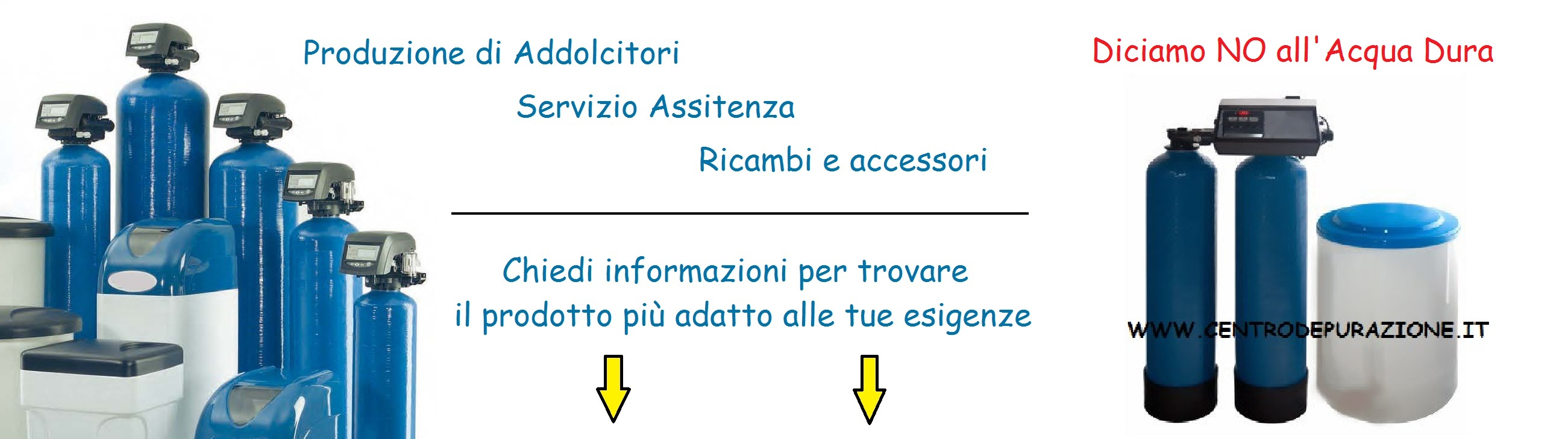 ricambi addolcitore industriale