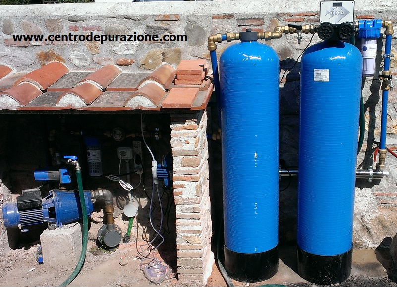 migliorare l'acqua di pozzo