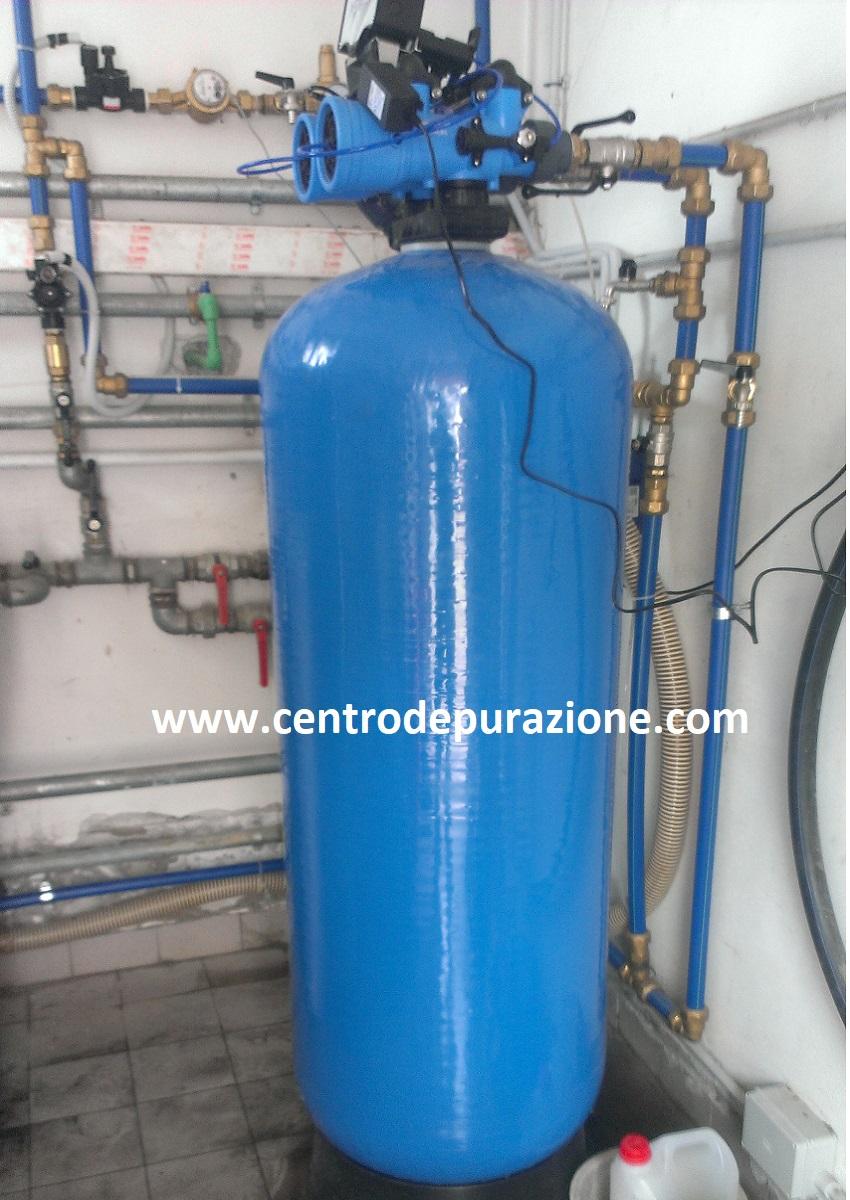 Filtro automatico a carboni attivi